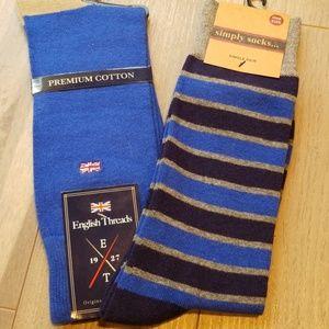 Other - 2 Pair Men's Sock Assortment
